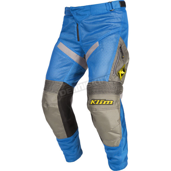 Klim Blue/Gray Mojave In-the-Boot Pants - 3183-003-032-200