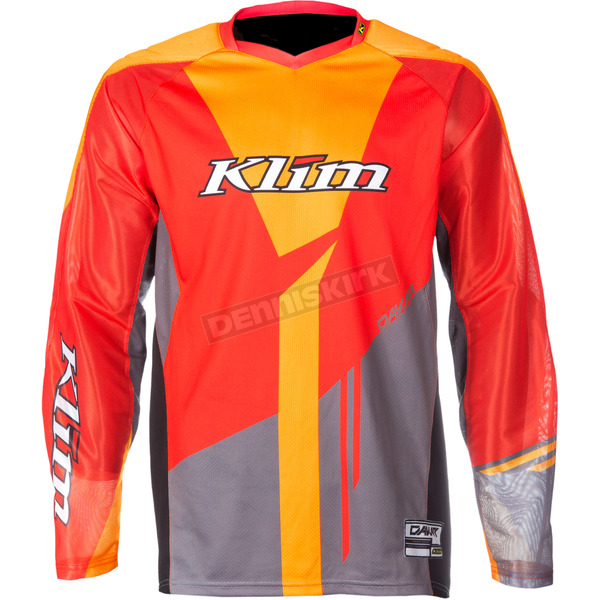Klim Orange/Gray Dakar Jersey - 3315-005-130-400