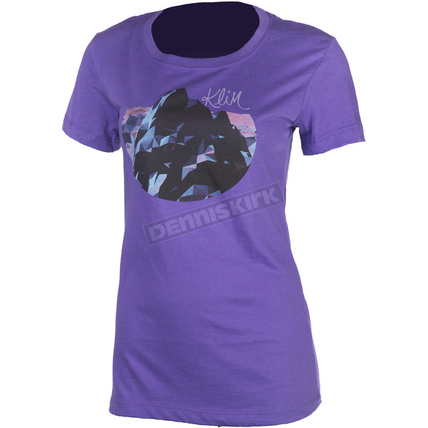 Klim Women's Purple Nightfall T-Shirt - 3521-000-110-790