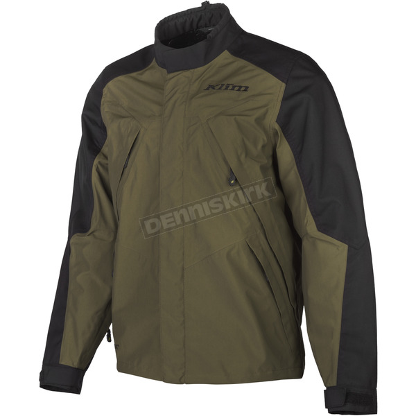 Klim Green/Black Traverse Adventure Series Jacket - 4050-001-150-300
