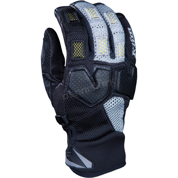 Klim Black/Gray Mojave Pro Gloves - 5034-000-170-600