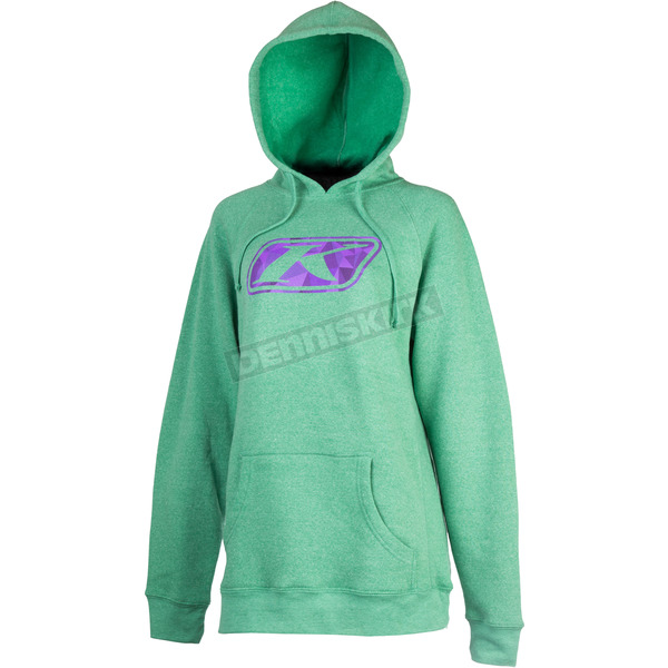 Klim Women's Green Vista Hoody - 6022-003-140-300