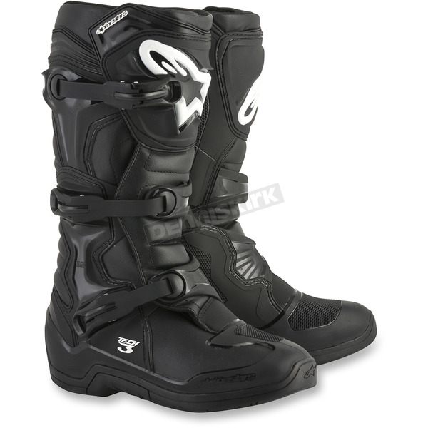 Alpinestars Black Tech 3 Boots - 2013018-10-15