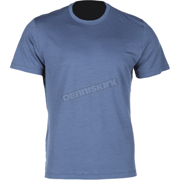 Klim Blue Teton Merino Wool Base Layer T-Shirt - 3711-000-140-200