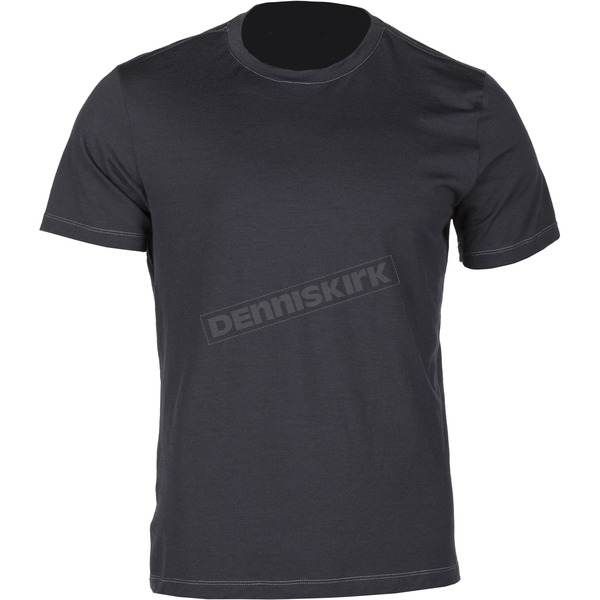 Klim Black Teton Merino Wool Base Layer T-Shirt - 3711-000-160-000