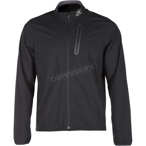 Klim Black Zephyr Wind Shirt/Jacket - 3715-000-160-000