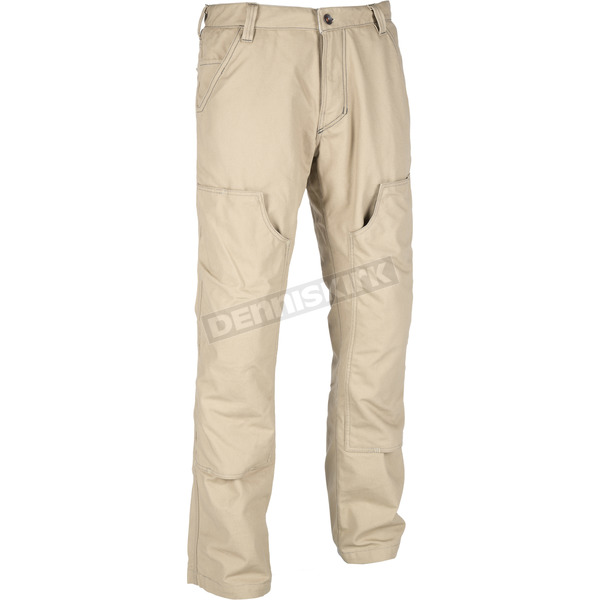 Klim Light Brown Outrider Pants - 3719-000-030-930