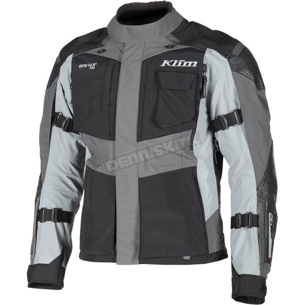 Klim Black/Gray Kodiak Touring Series Jacket - European Sizing - 3721-000-326-600