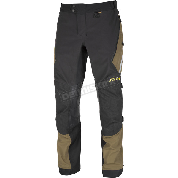 Klim Black/Green Badlands Pants - Tall - 4053-001-234-300