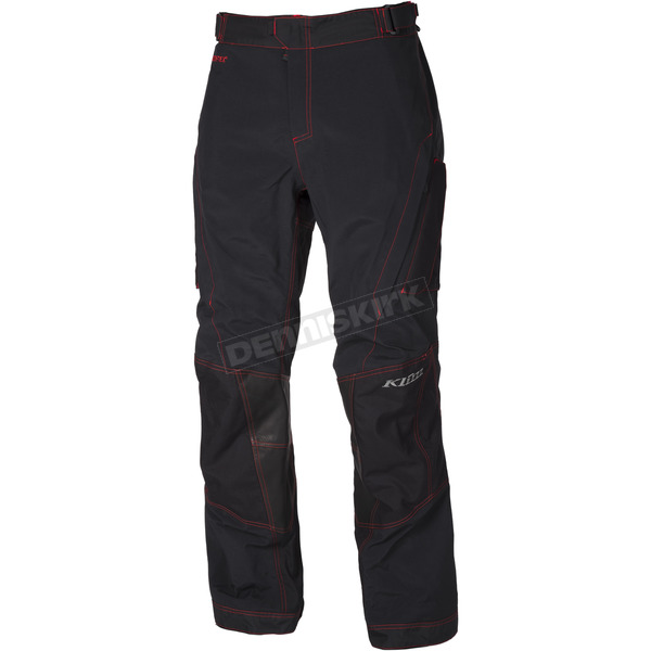 Klim Black/Red Honda Adventure Series Carlsbad Pants - 6030-001-234-199