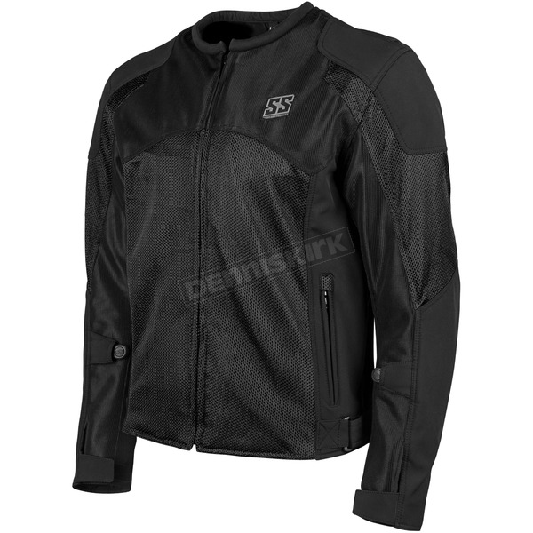Speed and Strength Black Midnight Express Mesh Jacket - 1101-0201-0052