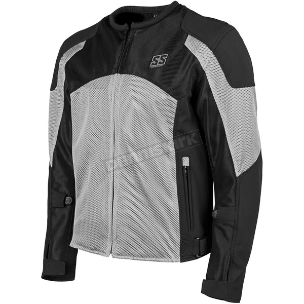 Speed and Strength Gray/Black Midnight Express Mesh Jacket - 1101-0201-2255