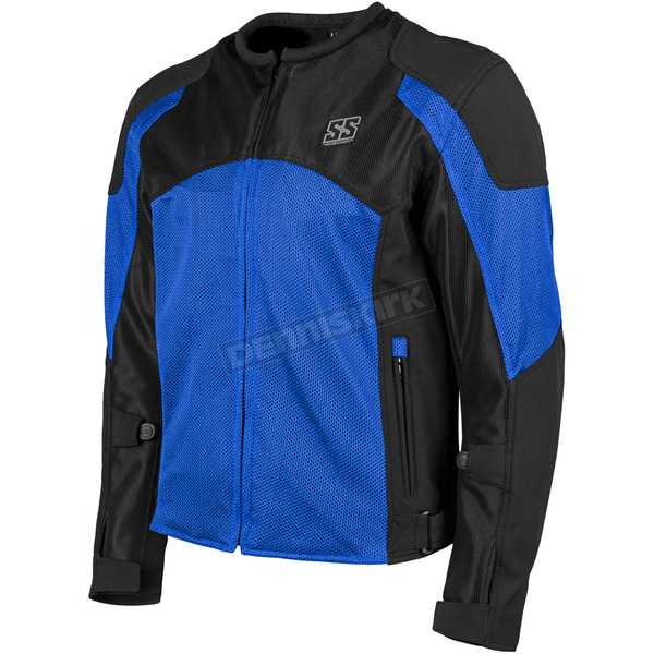 Speed and Strength Blue/Black Midnight Express Mesh Jacket - 1101-0201-1553