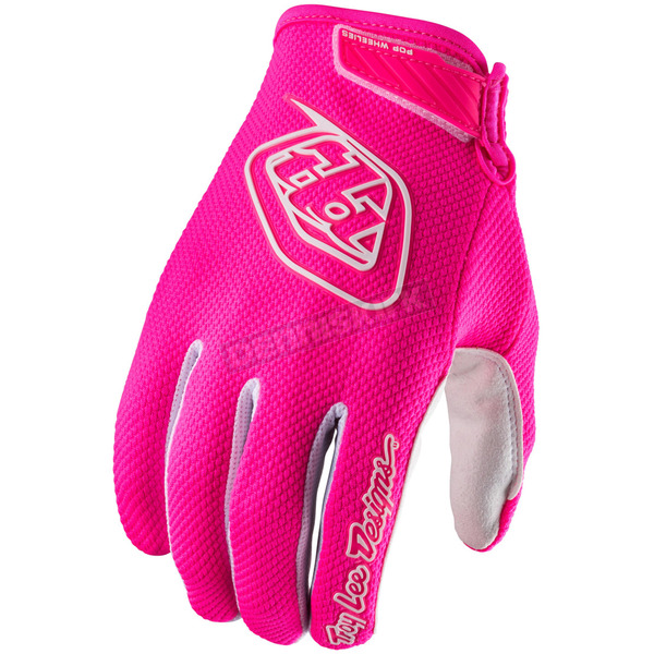 Troy Lee Designs Youth Flo Pink Air Gloves - 406003015