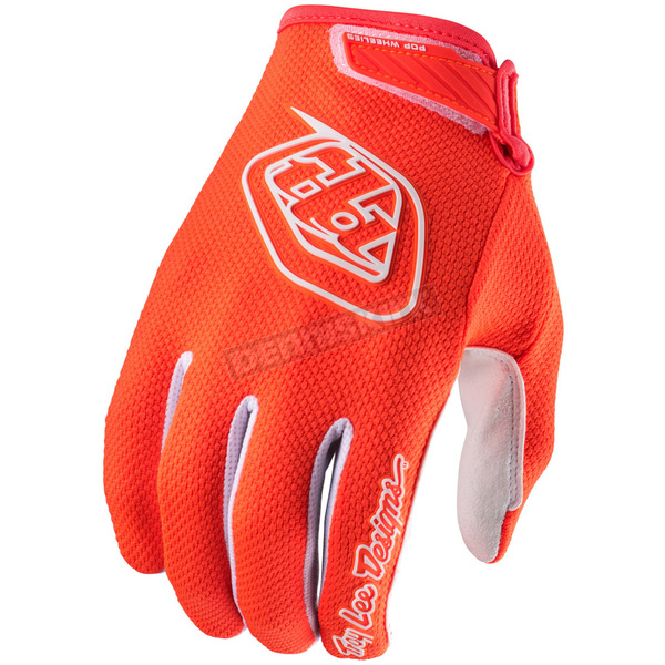 Troy Lee Designs Youth Flo Orange Air Gloves - 406003772