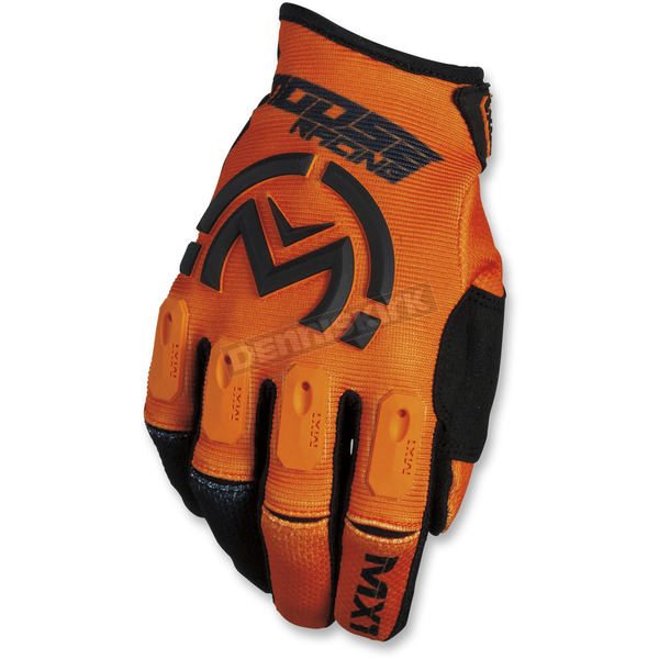 Moose Orange/Black MX1 Gloves  - 3330-4514