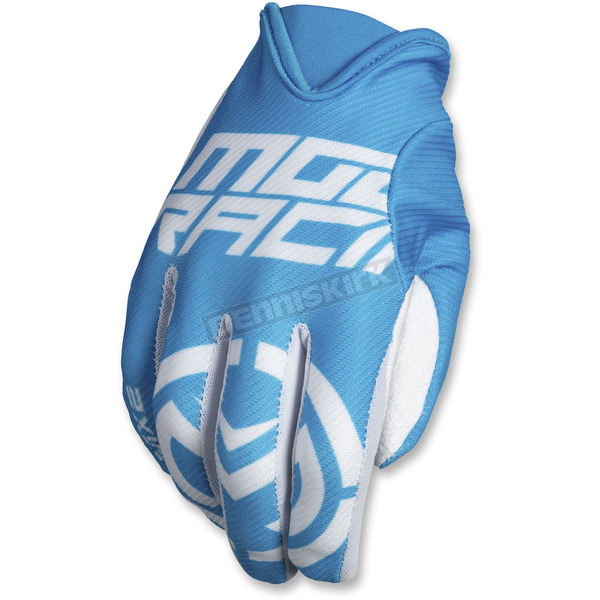 Moose Blue/White MX2 Gloves - 3330-4577
