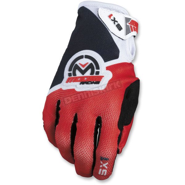 Moose Red/Black SX1 Gloves - 3330-4608