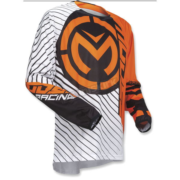 Moose Orange/Black Qualifier Jersey - 2910-4454
