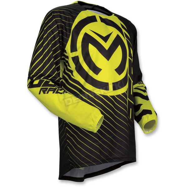 Moose Black/Hi-Viz Qualifier Jersey - 2910-4481
