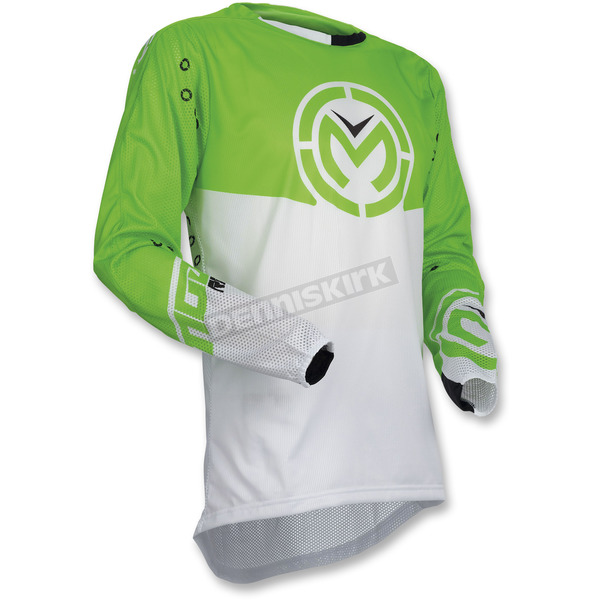 Moose Green/White Sahara Jersey - 2910-4550