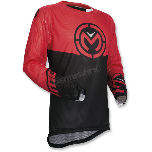 Moose Red/Black Sahara Jersey - 2910-4566