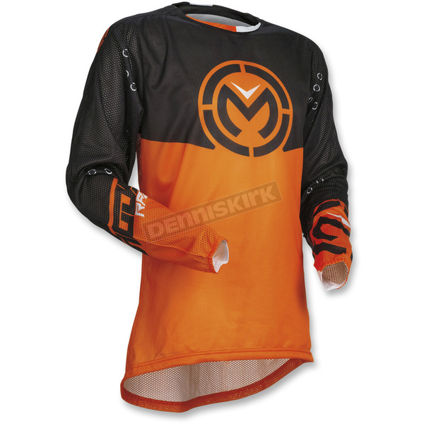 Moose Black/Orange Sahara Jersey - 2910-4567