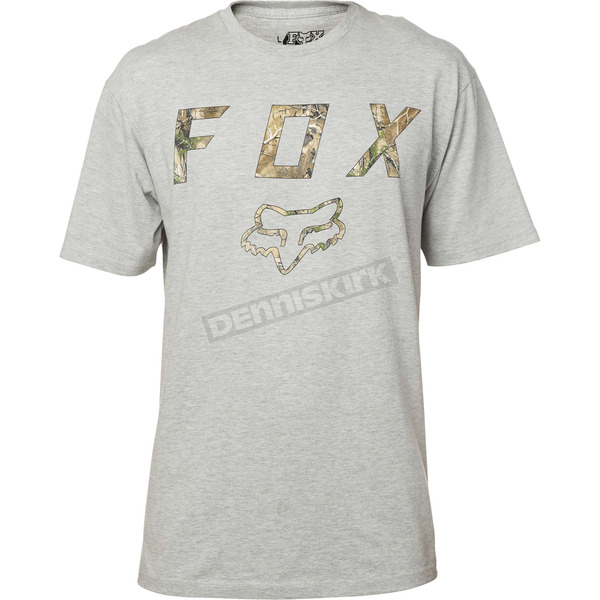 Fox Gray Realtree T-Shirt - 19489-006-XL