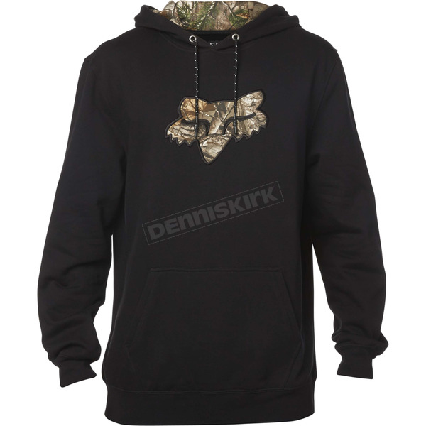 Fox Black Realtree Hoody - 19490-001-S