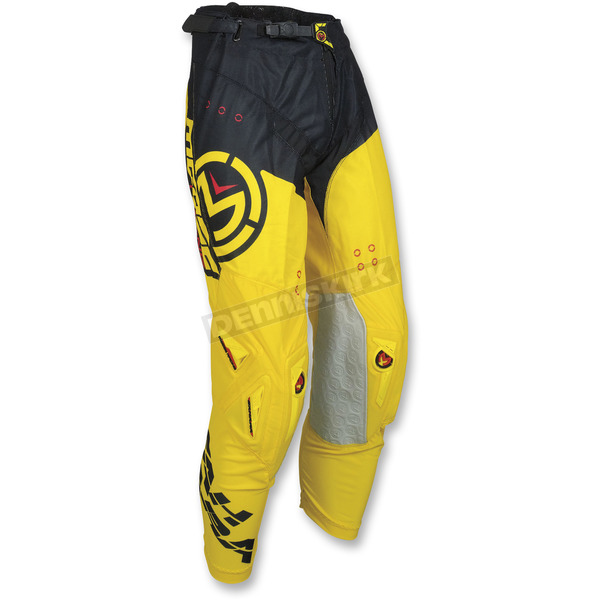 Moose Yellow/Black Sahara Pants - 2901-6571