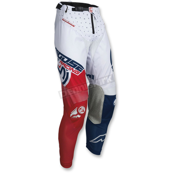 Moose Red/White/Blue M1 Pants  - 2901-6650