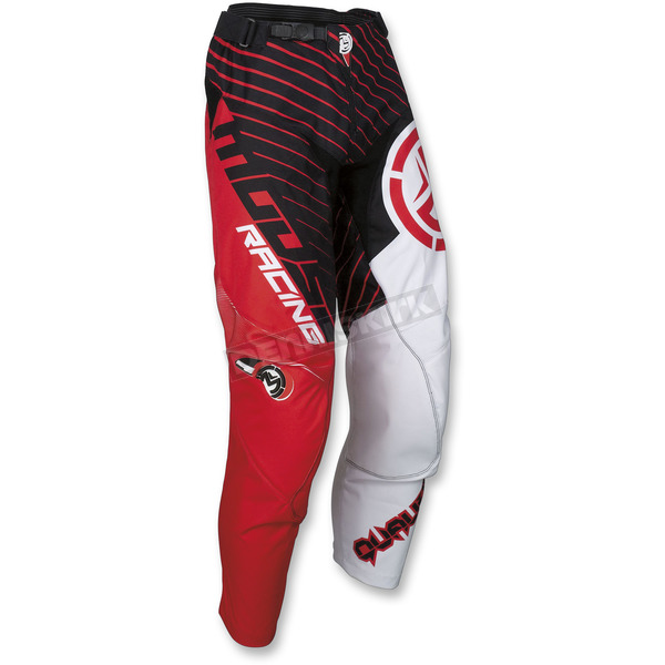 Moose Red/Black Qualifier Pants - 2901-6688