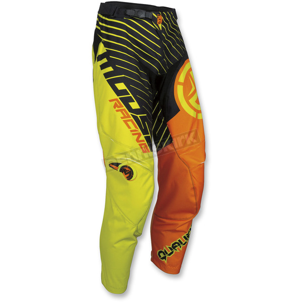 Moose Orange/Hi-Viz Qualifier Pants - 2901-6733