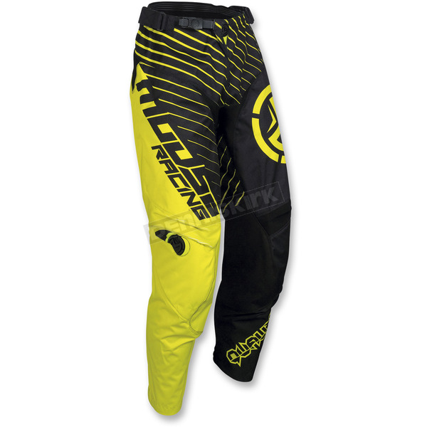 Moose Youth Black/Hi-Viz Qualifier Pants - 2903-1597
