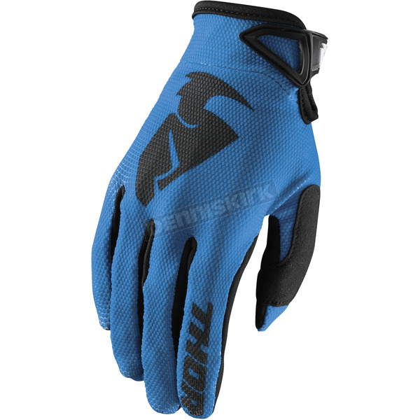 Thor Blue Sector Gloves - 3330-4721