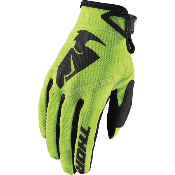Thor Lime Sector Gloves - 3330-4723