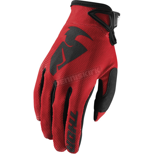 Thor Red Sector Gloves - 3330-4737