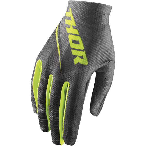 Thor Women's Gray/Lime Void Dashe Gloves - 3331-0153