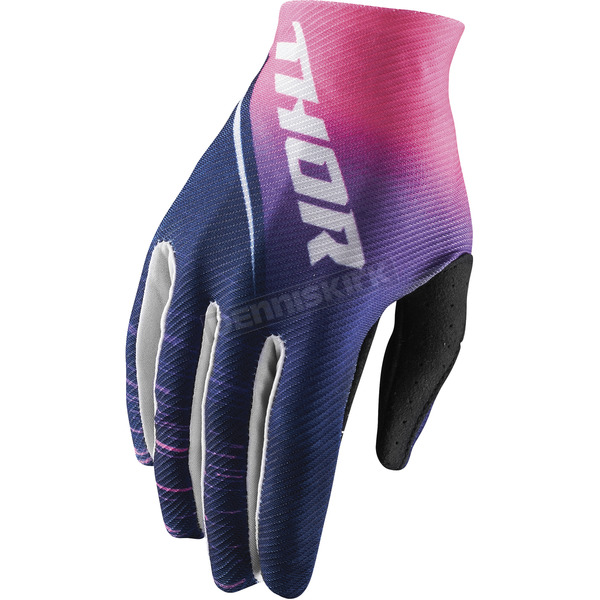 Thor Women's Navy/Pink Void Dashe Gloves - 3331-0157