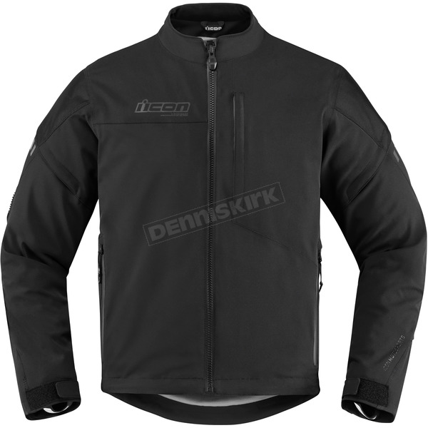 Icon Men's Black Tarmac Jacket  - 2820-4030