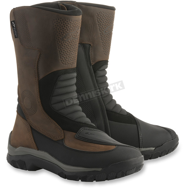 Alpinestars Campeche Brown/Black Drystar Boots - 2443218-82-10