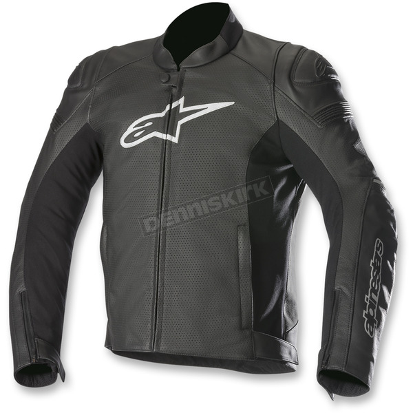 Alpinestars Black SP-1 Airflow Leather Jacket - 3100717-10-62