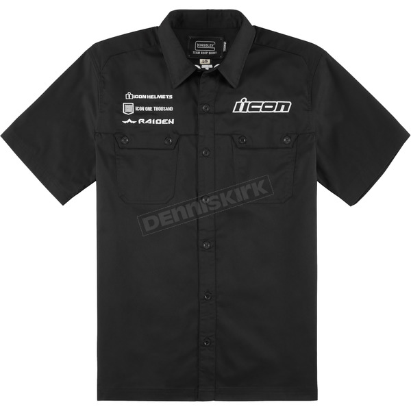 Icon Black Kingsley Shop Shirt - 3040-2485