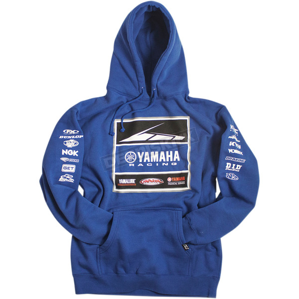 Factory Effex Blue Yamaha Racing Team Pullover Hoody - 20-88206