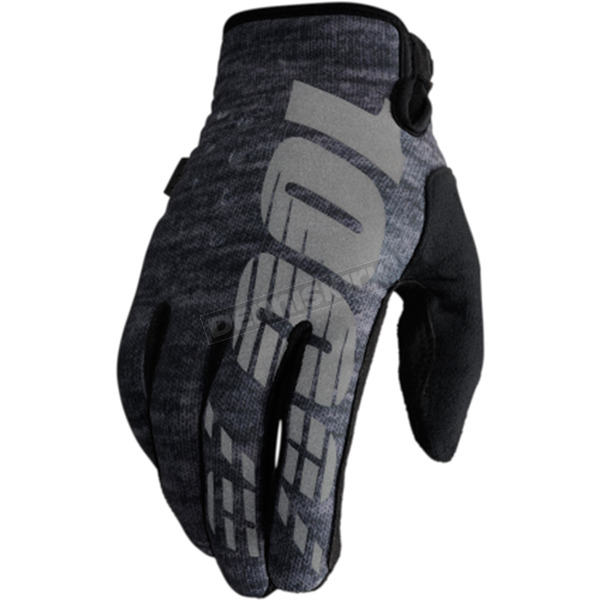 100% Heather Brisker Gloves - 10006-007-12