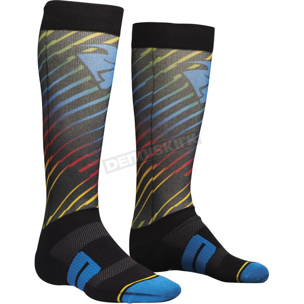 Thor Multi Moto Sub Rodge Socks - 3431-0394