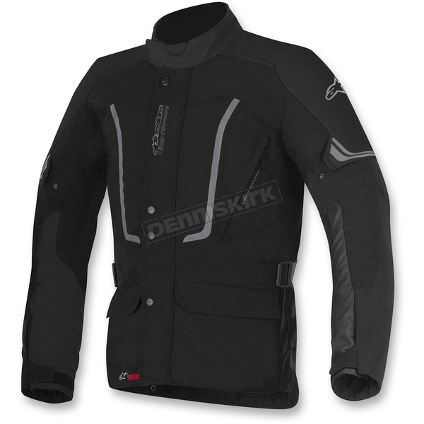 Alpinestars Black Venice Drystar Jacket - 3207317-10-XL