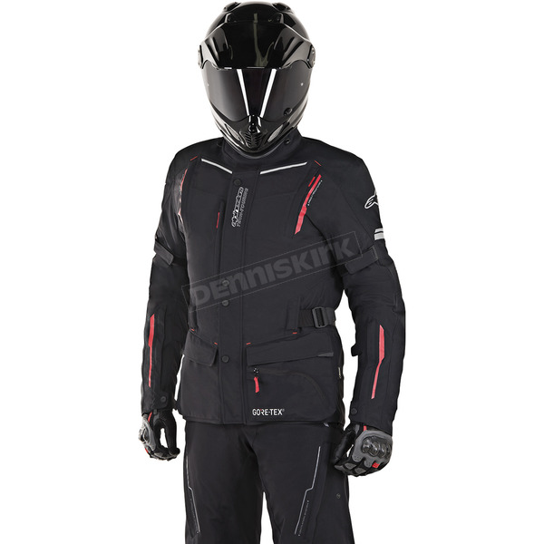 Alpinestars Black/Red Guayana Gore-Tex Jacket - 3602518-13-XL