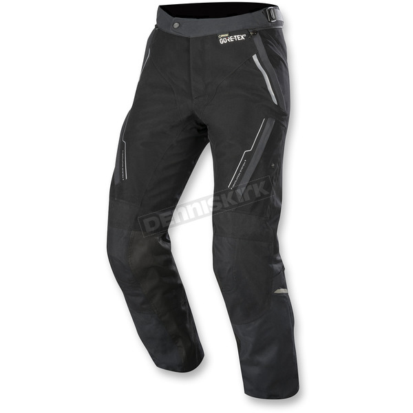 Alpinestars Black Bryce Gore-Tex Pants - 3622718-10-S