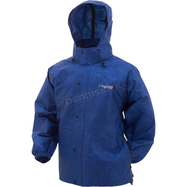 Frogg Toggs Blue Pro Action Advantage Rain Jacket - PA63123-12LG